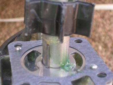 changement turbine vue clavette