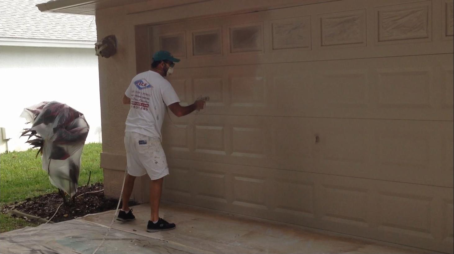 How To Paint A Garage Door Can I Paint My Garage Door
