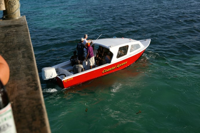 Coastal Express water taxi