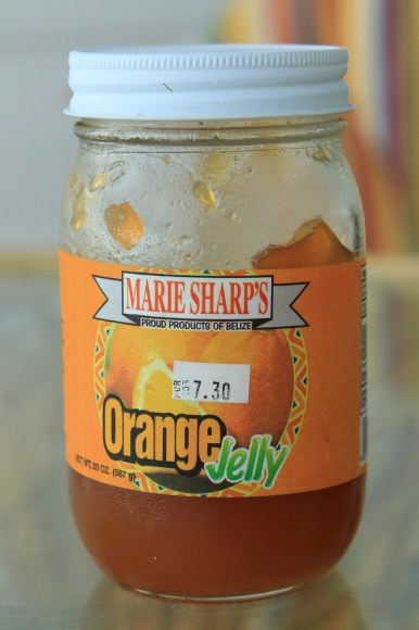 Very good jelly for $3.65US. If you buy Marie Sharp products in the tourist shops you pay a premium, so pick up your hot sauces in the groceries stores.