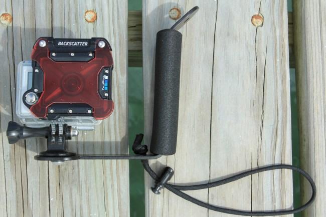 Primary handheld setup.