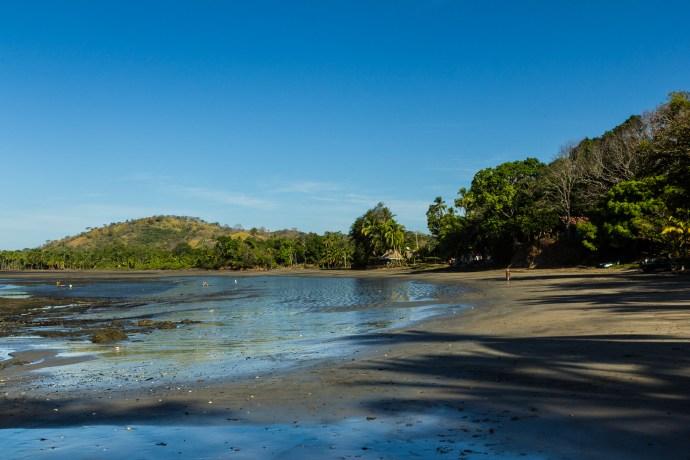 A view across the Santa Catalina beach.