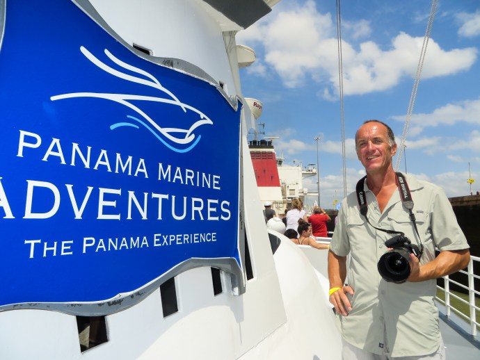 One of the two companies that provide transits of the Canal for tourists. Panama Marine Adventures.