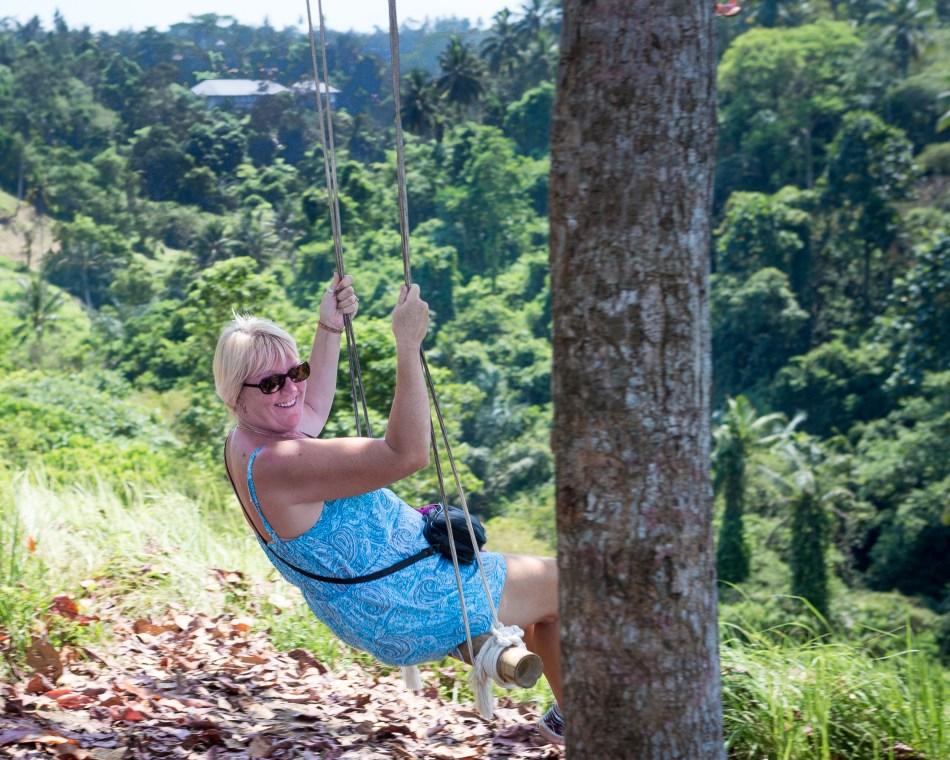 Karen on Swing