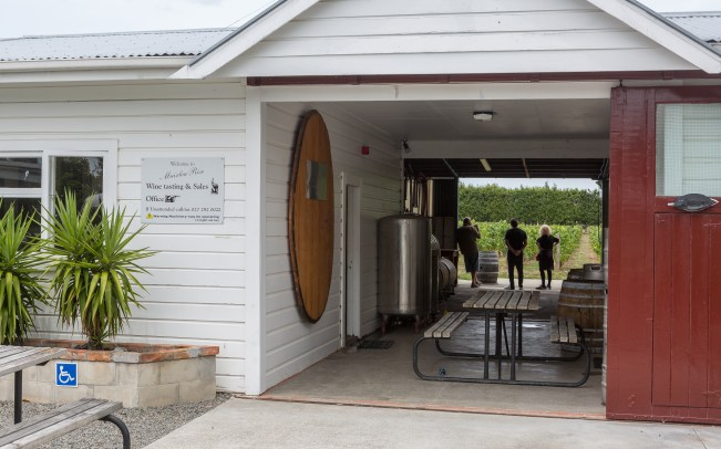 Muirlea Winery had a great laid back attitude and simply wanted you to enjoy good wine.