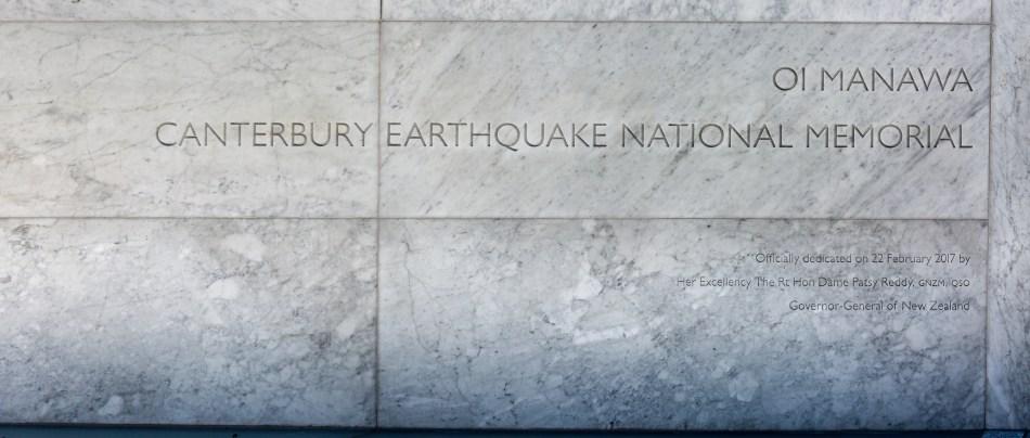 Canterbury Earthquake National Memorial