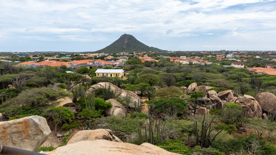 View from Casibari Rock