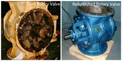collage-Rotary-Valve-Refurbishment