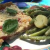 August Picnic, Tomato Tart, Green Bean and Potato Salad
