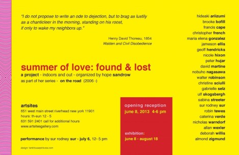 summer of love:found & lost