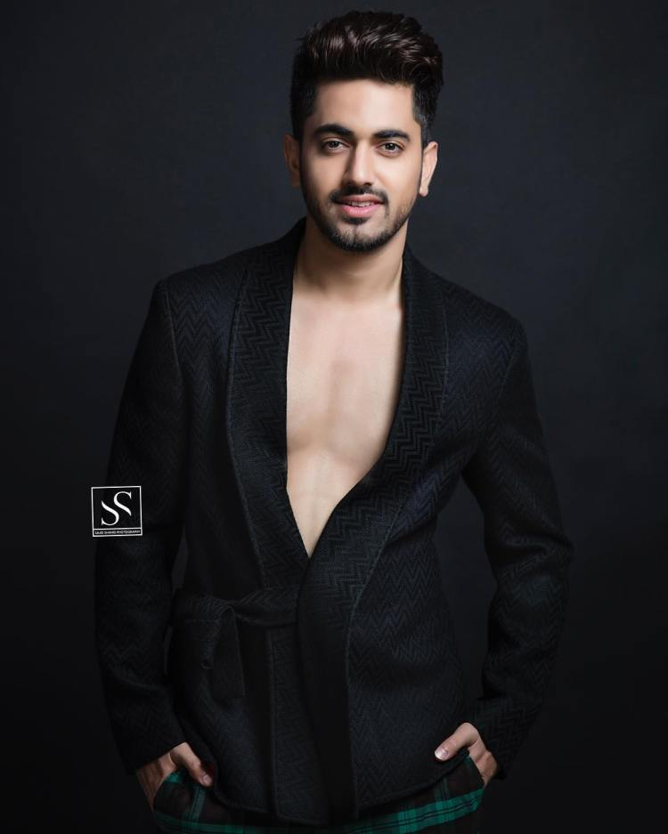 Zain Imam in sexy chest exposing robe. Taken by Sajid Shahid.