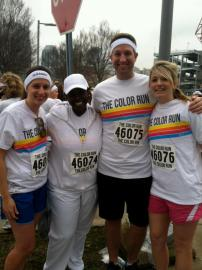 The Color Run --Before