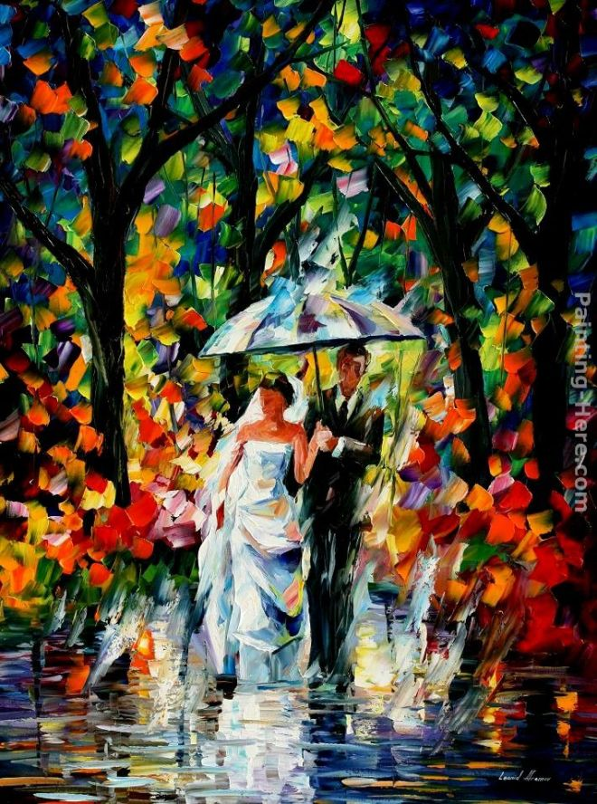WEDDING UNDER THE RAIN
