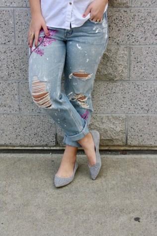 DIY Blake Lively Jeans
