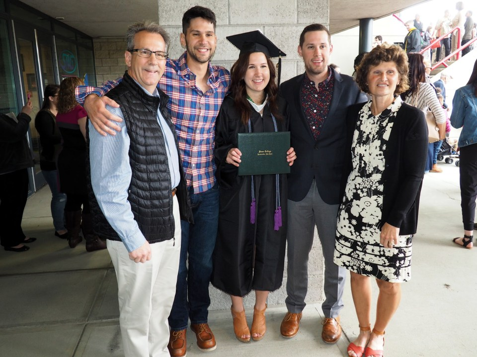 Siena College Graduation