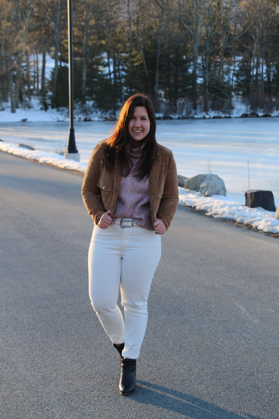 Everlane White Pants