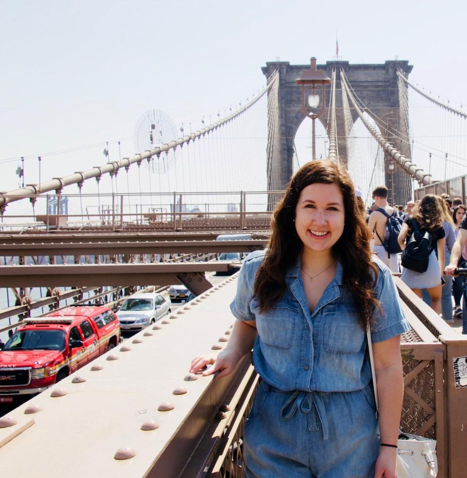 Brooklyn Bridge Romper- Current Elliot