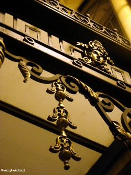 Detalle ornamental Teatro Colón