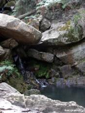 Fuente de agua bogotana