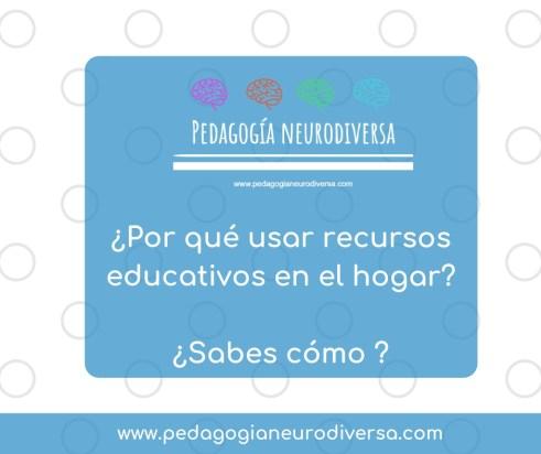 ¿Por que usar recursos educativos en tu hogar?