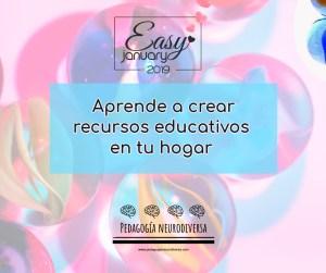 Aprende a crear recursos educativos en tu hogar