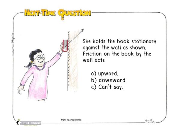 Next-Time Question