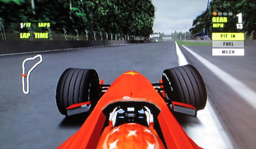 Old School Review F1 2000 Pedal To The Plastic