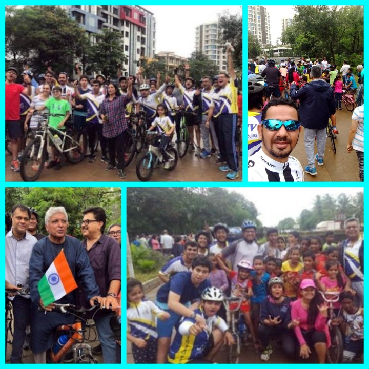 CYCLING TRACK IN JUHU – A BIG STEP FORWARD