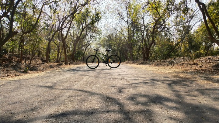 CYCLING IN BORIVALI NATIONAL PARK
