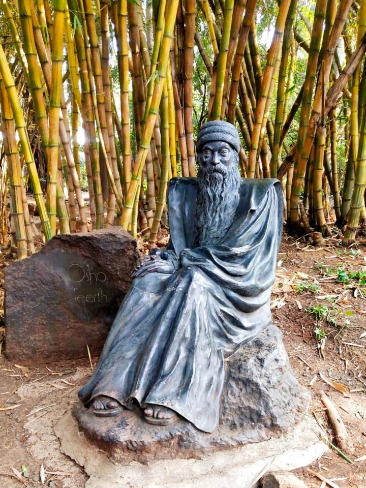 SPIRITUAL WALK INSIDE OSHO GARDEN