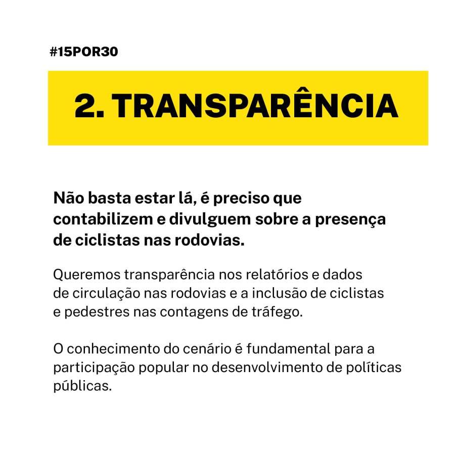 transparencia cicloturismo pilares 15por30