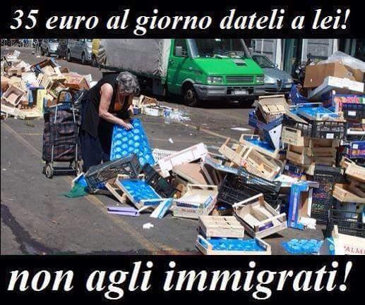 Risultati immagini per no immigrati