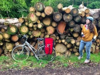 Chance Kellner and Robin's mum's bike, tour 3