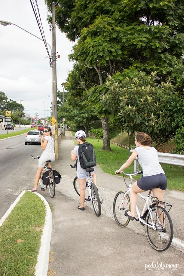 Amigas, familiares e por aí vai: ninguém passa incólume as minhas insistências para pedalar.