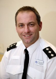 Chief Inspector Andy Bottomley of the Hampshire Constabulary.