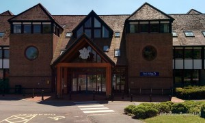 Test Valley Borough Council has its offices on Weyhill Road near the town centre. Convenient bicycle parking is provided at the entrance.