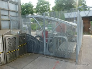 The secure cycle parking was closed in June 2013 and later demolished.