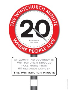 "People in nearby Whitchurch also have 20mph and ran a campaign called ""The Whitchurch Minute"""