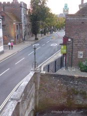 You'll rarely see Winchester this free from motor traffic!