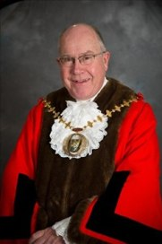 The Mayor of B&DBC for 2014-15 is Cllr Roger Gardiner.