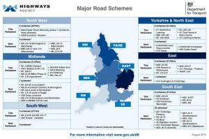 Highways Agency - Major Roads Schemes 2014-08-26