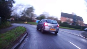 Overtake on blind corner LHP at Dances Lane by VU09 BMO [ VU09BMO ]