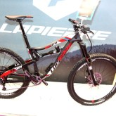 Lapierre Spicy 27.5 Enduro bike with Ei rear shock controller [P] Chris Redden