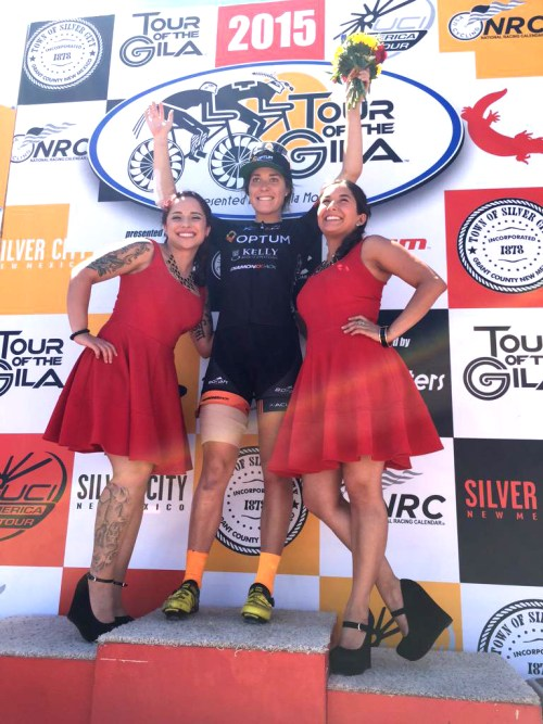 Annie Ewart wins Stage 2 at Tour of the Gila [P]