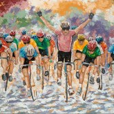 9th Prize – Bicycle Art Gift Certificate (value $100)