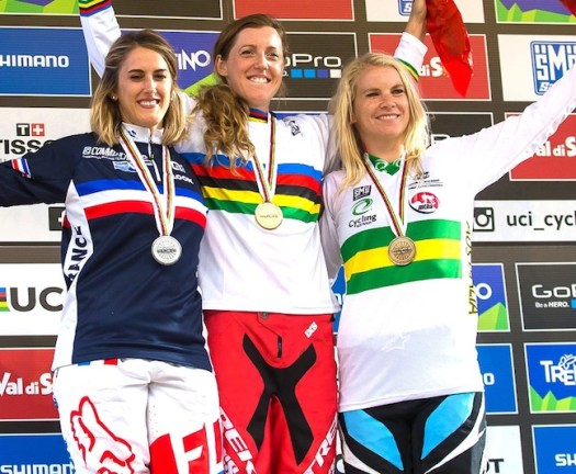 Elite Women's podium [P] Fraser Britton