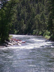 The Payette River and site of numerous hot springs...or so I've heard!