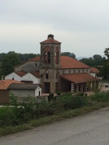 One of many Greek Orthodox churches along the way