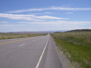 Following the road in Wyoming to wherever it might take me (2011)