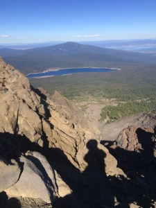 Nearing the top of Mt. McLoughlin, 2016
